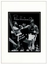 Rubin Carter and Emile Griffith Autograph Signed Photo